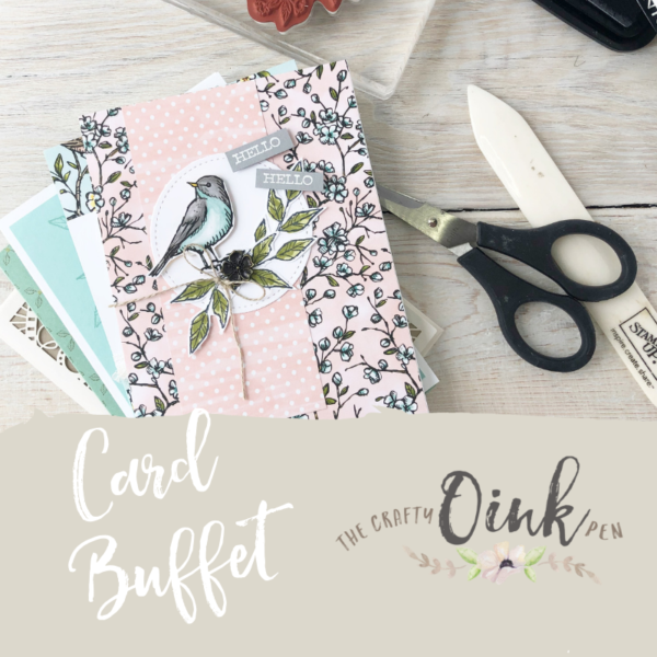 Card Buffet by Mikaela Titheridge, UK Independent Stampin' Up! Demonstrator, The Crafty oINK Pen. Supplies available through my online store 24/7
