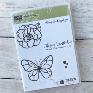 Retired Beautiful Day Stamp Set available here, along with current Stampin' Up! Products available from Mikaela Titheridge, UK Independent Stampin' Up! Demonstrator, The Crafty oINK Pen. Stampin' Up! Products available through my online UK store 24/7. Use my Shopping Code at checkout for personal rewards from me.