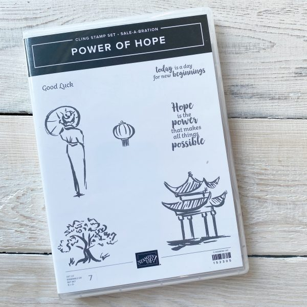 Power of Hope Sale-a-Bration retired set available from Mikaela Titheridge, UK Independent Stampin' Up! Demonstrator, The Crafty oINK Pen. Stampin' Up! Products available through my online UK store 24/7. Use my Shopping Code at checkout for personal rewards from me.