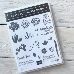 Retired Abstract Impressions available to purchase from Mikaela Titheridge, UK Independent Stampin' Up! Demonstrator, The Crafty oINK Pen. Stampin' Up! Products available through my online UK store 24/7. Use my Shopping Code at checkout for personal rewards from me.