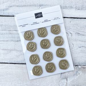 Retired Floral Romance Seals available to purchase through Mikaela Titheridge, UK Independent Stampin' Up! Demonstrator, The Crafty oINK Pen. Stampin' Up! Products available through my online UK store 24/7. Use my Shopping Code at checkout for personal rewards from me.