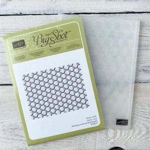 Retired Hexagons Dynamic Embossing Folder from Stampin' Up! available from Mikaela Titheridge, UK Independent Stampin' Up! Demonstrator, The Crafty oINK Pen. Stampin' Up! Products available through my online UK store 24/7. Use my Shopping Code at checkout for personal rewards from me.
