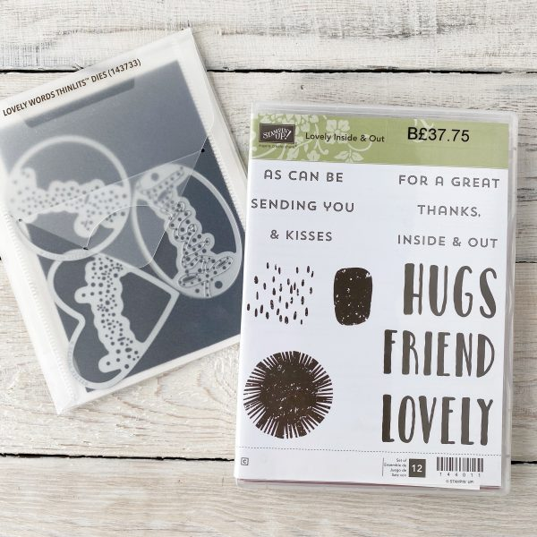 Retired Bundle, Lovely Inside & Out available from Mikaela Titheridge, UK Independent Stampin' Up! Demonstrator, The Crafty oINK Pen. Stampin' Up! Products available through my online UK store 24/7. Use my Shopping Code at checkout for personal rewards from me.