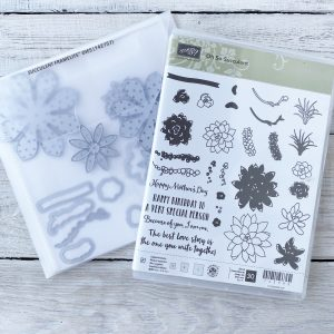 Retired Oh So Succulent Stamp Set and Die Bundle available to purchase from Mikaela Titheridge, UK Independent Stampin' Up! Demonstrator, The Crafty oINK Pen. Stampin' Up! Products available through my online UK store 24/7. Use my Shopping Code at checkout for personal rewards from me.