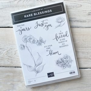 Retired Stamp set selling here - Rare Blessings - Mikaela Titheridge, UK Independent Stampin' Up! Demonstrator, The Crafty oINK Pen. Stampin' Up! Products available through my online UK store 24/7. Use my Shopping Code at checkout for personal rewards from me.