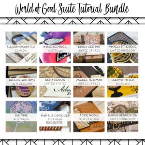 All Star Tutorial Bundle using World of Good Suite available from Mikaela Titheridge, UK Independent Stampin' Up! Demonstrator, The Crafty oINK Pen. Stampin' Up! Products available through my online UK store 24/7. Use my Shopping Code at checkout for personal rewards from me.