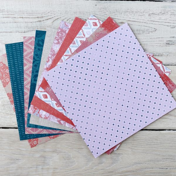 Woven Threads 6x6 Paper Pack from Mikaela Titheridge, UK Independent Stampin' Up! Demonstrator, The Crafty oINK Pen. Stampin' Up! Products available through my online UK store 24/7. Use my Shopping Code at checkout for personal rewards from me.