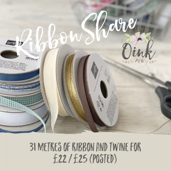 Stampin' Up! Annual Catalogue 2020-2021 Ribbon Shares available from Mikaela Titheridge, UK Independent Stampin' Up! Demonstrator, The Crafty oINK Pen. Stampin' Up! Products available through my online UK store 24/7. Use my Shopping Code at checkout for personal rewards from me.