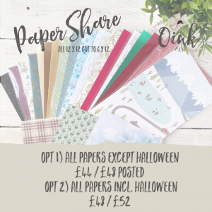 Mini Seasonal Catalogue Paper Share by Mikaela Titheridge, UK Independent Stampin' Up! Demonstrator, The Crafty oINK Pen. Stampin' Up! Products available through my online UK store 24/7. Use my Shopping Code at checkout for personal rewards from me.
