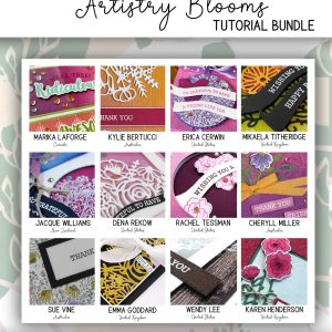 ALL STAR Tutorial Bundle using Artistry Blooms by Stampin' Up! available from Mikaela Titheridge, UK Independent Stampin' Up! Demonstrator, The Crafty oINK Pen. Buy your Stampin' Up! Products through my online store 24/7. Use my Shopping Code at checkout for personal rewards from me. Can be found here on my Blog.