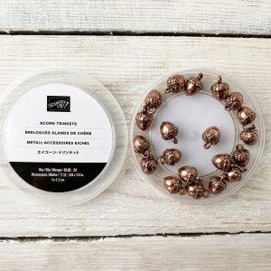 Copper Acorn Trinkets