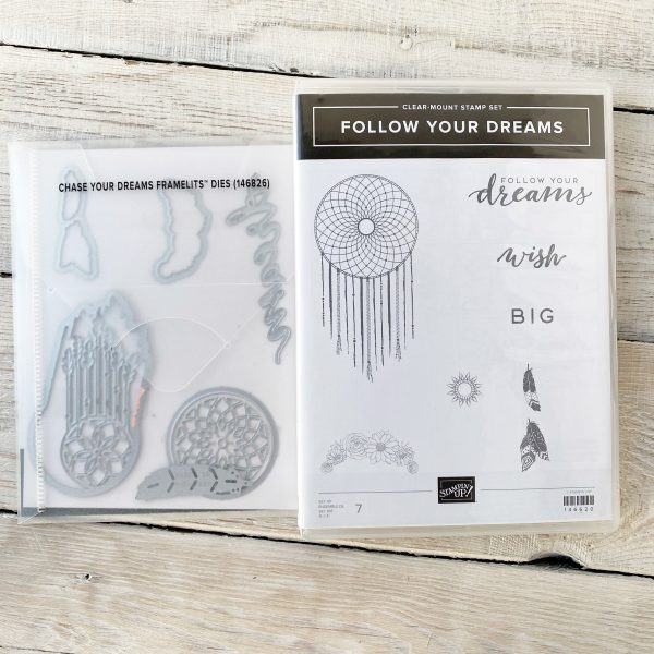 Dream Catcher Stamp Set with Feathers for sale