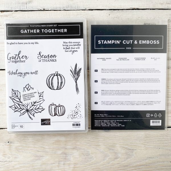 Stampin' Up! Gather Together Stamp Set and Die Bundle - Autumn images