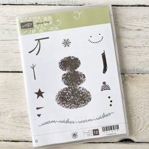 Stampin' Up! Clear Mount Snow Day