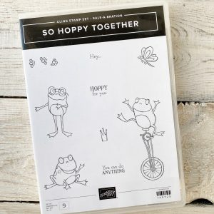 So Hoppy Together Stamp Set with Frogs