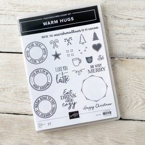 Stampin' Up! Warm Hugs Christmas Set with Trees, Candy Canes, mugs and hearts