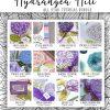 Sneak Peeks of All Star Tutorial Bundle using Hydrangea Hill Suite