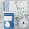 Papercraft Class Kit for Boho Indigo
