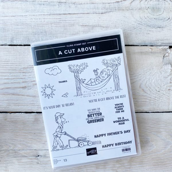 Stampin' Up! A cut above stamp set
