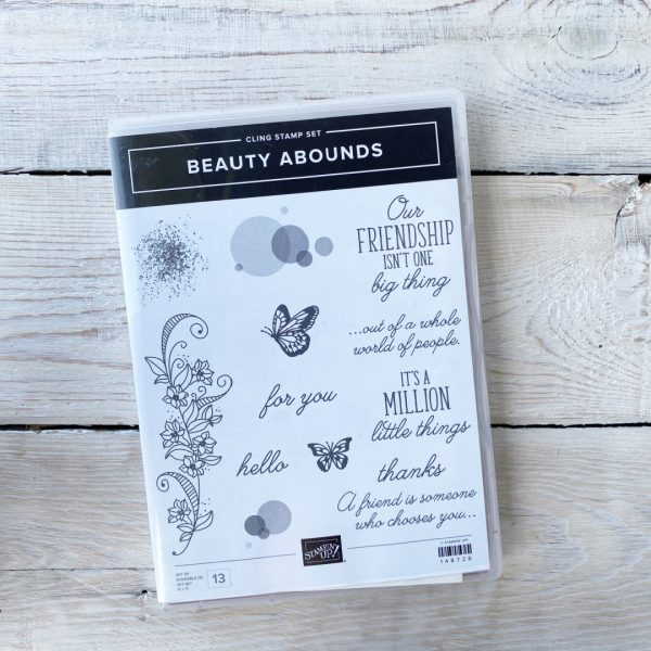 Stampin' Up! Beauty Abounds stamp set