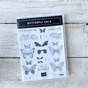 Stampin' Up! Stamp Set - Butterfly. Gala