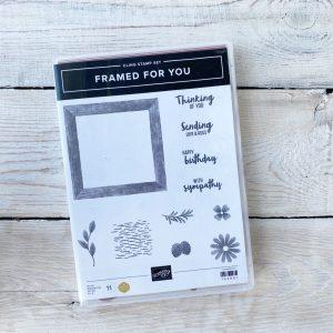 Stampin' Up! Framed for you. stamp set