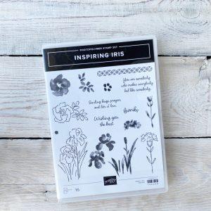 Stampin' Up! Stamp Set - Inspiring Iris