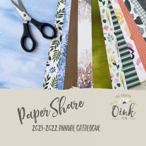Stampin' Up! Paper Share for the 2021-2022 Annual Catalogue