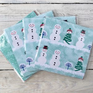 Stampin' Up! Retired Papers. Let it Snow