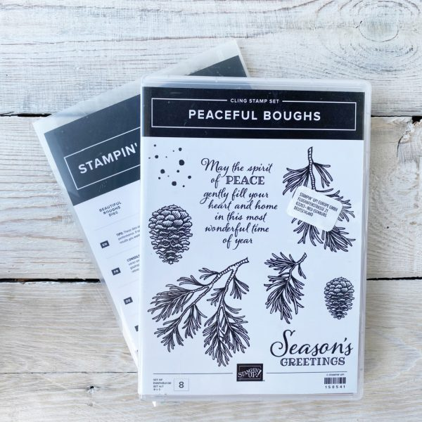 Stampin' Up! Retired Stamp set and Dies Bundle So Much Happy