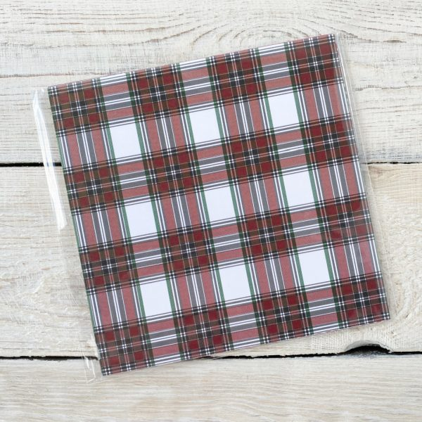 Stampin' Up! Plaid Tidings DSP