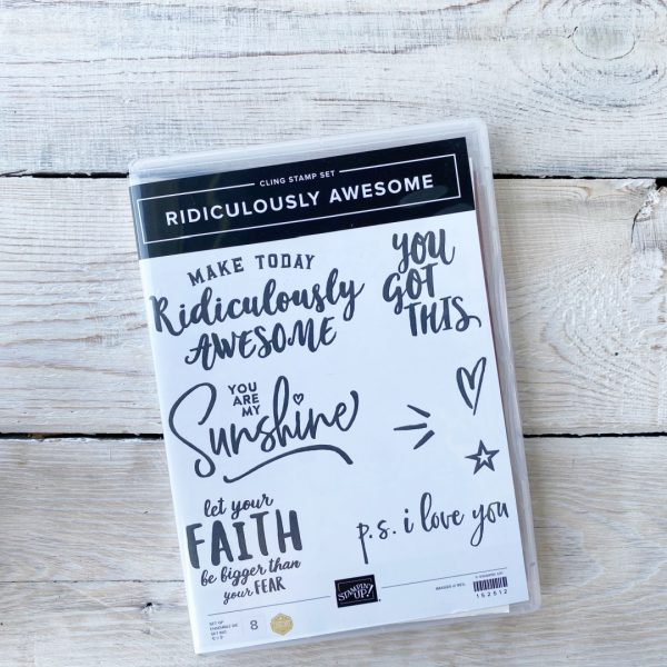 Stampin' Up! Stamp Set Ridiculously Awesome