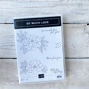 Stampin' Up! So Much Love stamp set