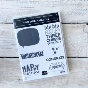Stampin' Up! stamp set you are amazing