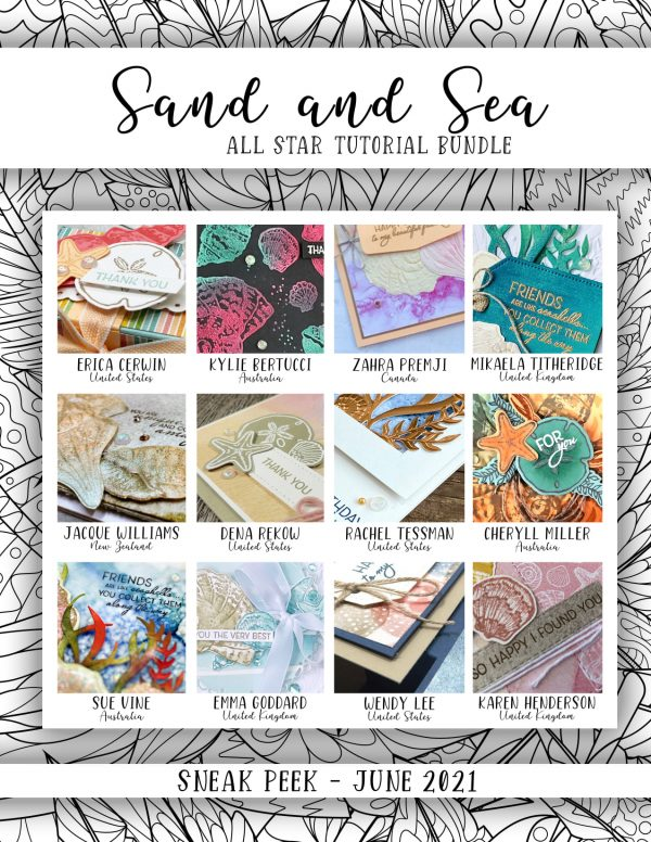 Stampin' Up! Sand and Sea All Star Tutorial Bundle