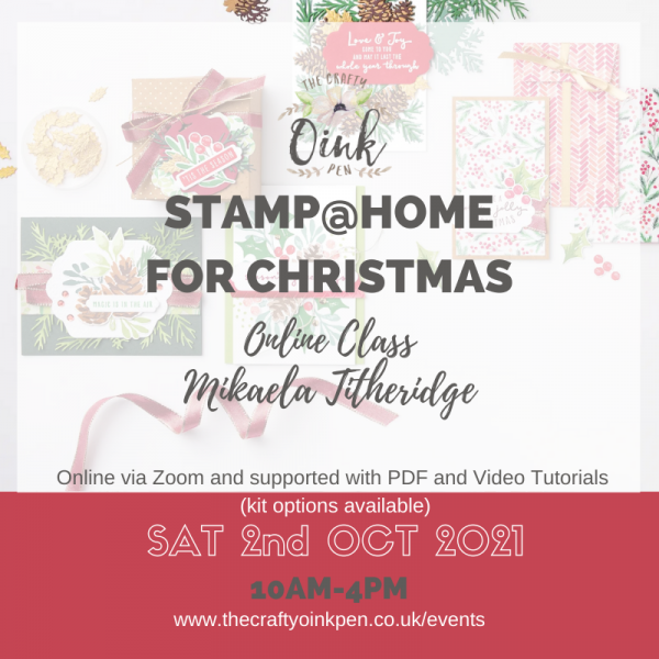 Stamp at Home stamp a stack with Mikaela Titheridge using Painted Christmas suite