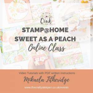 Sweet as a Peach virtual tutorial class